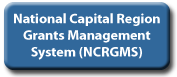 Box that reads National Capital Region Grants Management System NCRGMS