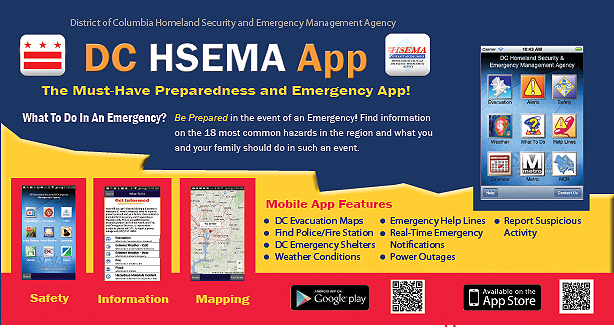DC HSEMA Mobile Application