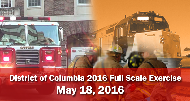 District of Columbia 2016 Full Scale Exercise