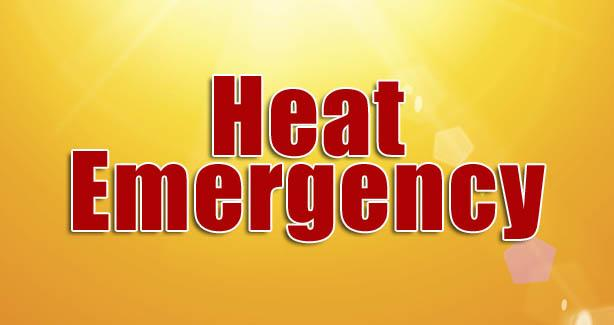 Heat Emergency Banner