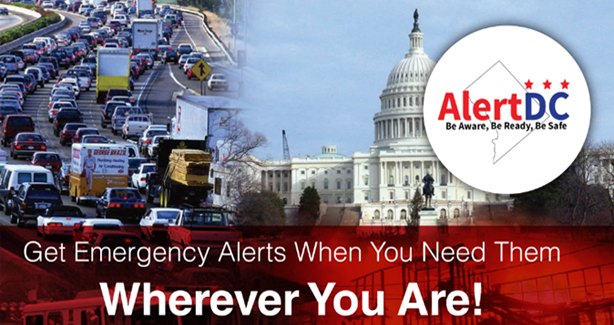 Sign Up For Alerts. AlertDC
