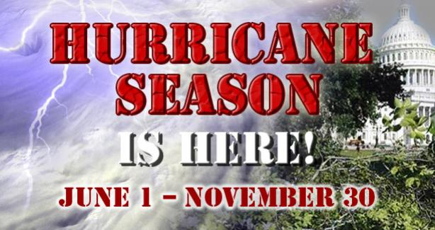 Be Prepared for Hurricane Season