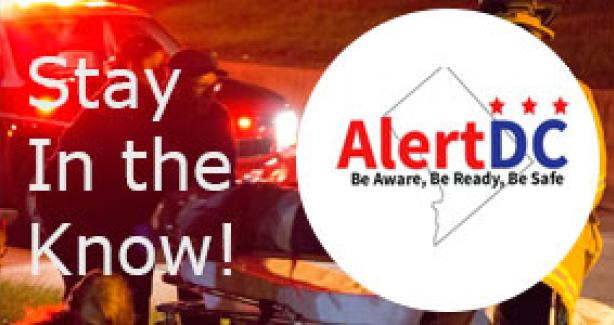 Stay in the know with AlertDC